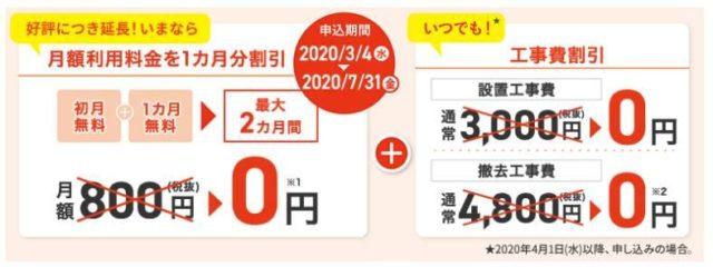 J:COMメッシュWi-Fiキャンペーン